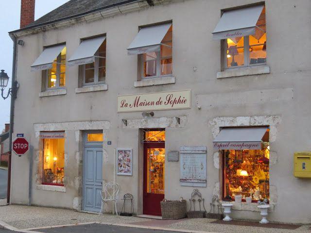 """GOOD MORNING SOLOGNE: La boutique """" La Maison de Sophie """" à Dhuizon"""