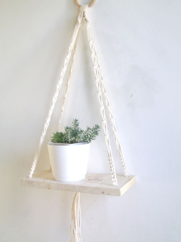 Les 25 meilleures id es de la cat gorie suspension macram sur pinterest conception macram - Faire macrame suspension ...