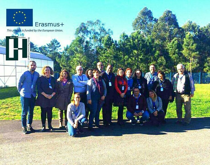 """The #Team! After a successful Day 1 we are now into Day 2 of our first #Transnational Meeting in #Boiro Spain. Our #ErasmusPlus #project """"The Change Starts With Us"""" involves organisations from 6 countries including #Turkey #Greece #Romania #Spain #Portugal and the #UK. The project focuses on developing new methods of addressing the problem of early school leavers amongst young people with disabilities.   For more information visit our website (link in the description).  #erasmus #erasmuslife…"""