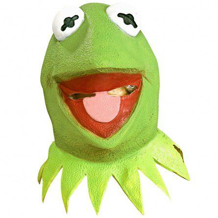 Adult Kermit The Frog Mask