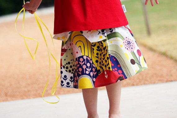 tillytom    Tilda Sash Skirt PDF Sewing Pattern by tillytomdesigns, $8.00