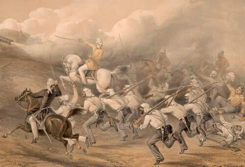 10th may 1857, war of independance started from meerut.