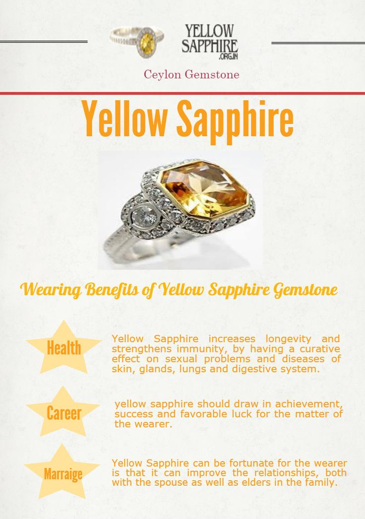 Pin by YellowSapphire .org.in on Facts of Yellow Sapphire | Pinterest | Sapphire, Yellow and Your horoscope