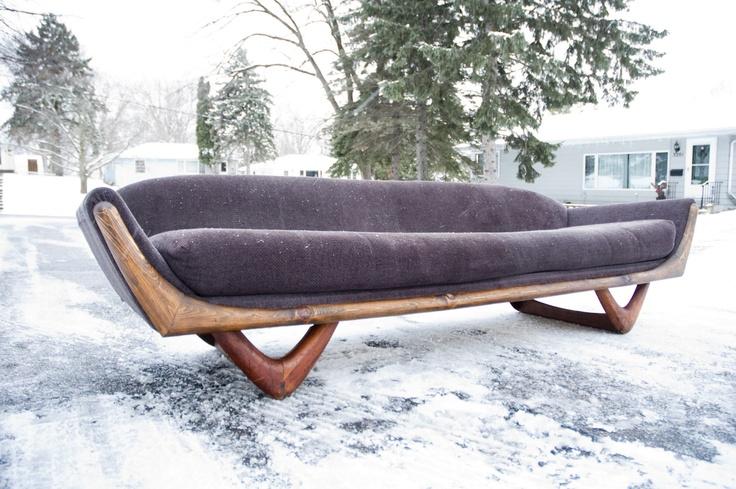 Mid Century Adrian Pearsall Sofa 620 Robbinsdale