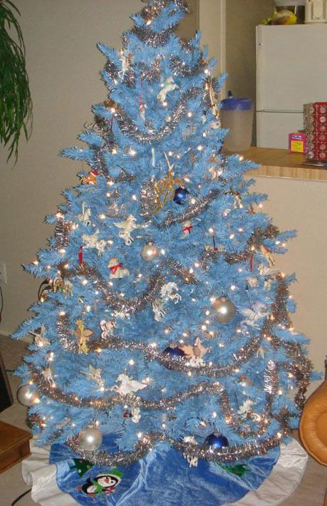 Baby Blue Christmas Tree Bodacious Blue Blue Christmas