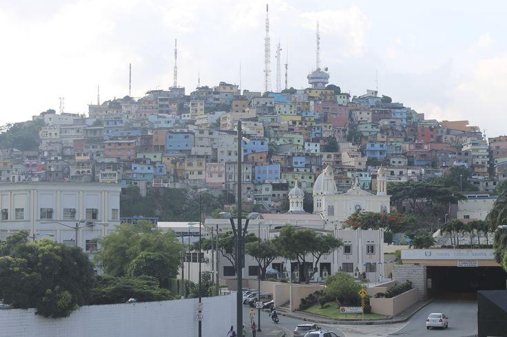 View of Cerro Santa Ana - Guayaquil, Ecuador