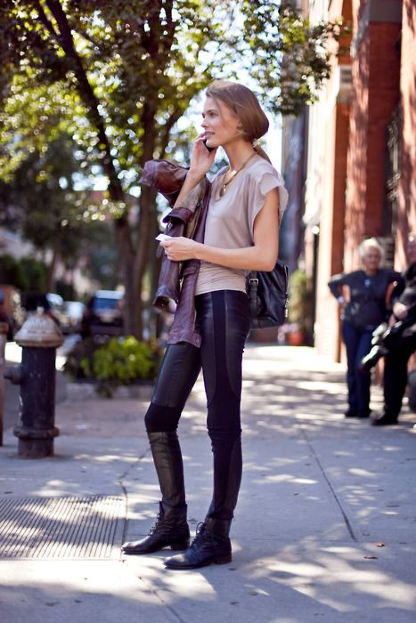 globalstreetfashion:      street style: just PERFECT!      Models Off Duty