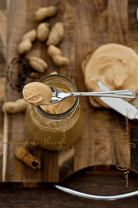 homemade peanut butter - love the way this is laid out