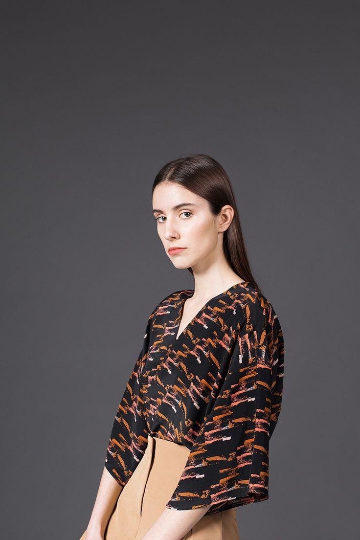 AH/OK - Petra - Silk Kimono