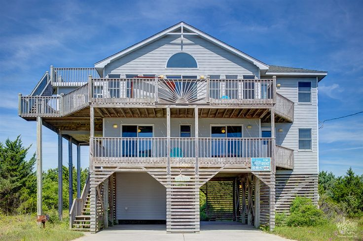 14 Best Vacation Rentals Images On Pinterest Vacation Rentals Hatteras Island And Beach Houses