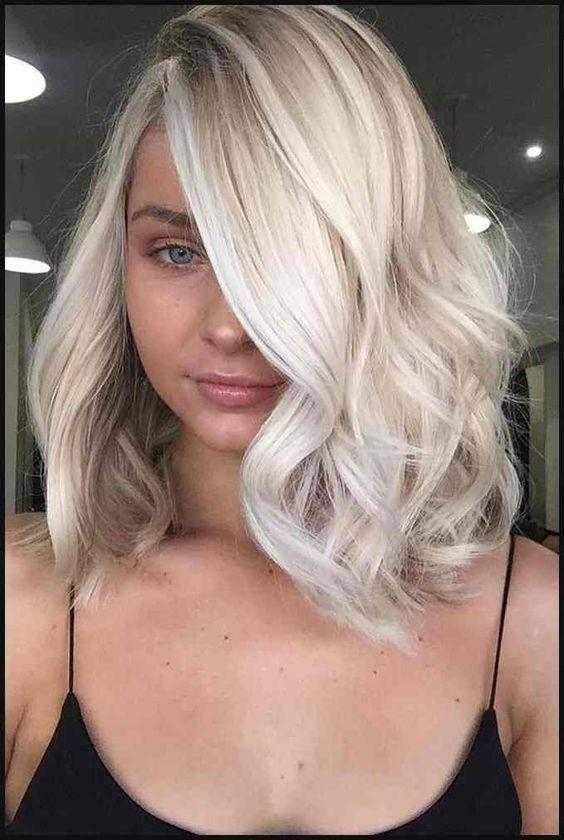 Blonde Haare Style für kurz, mittellange oder lan…