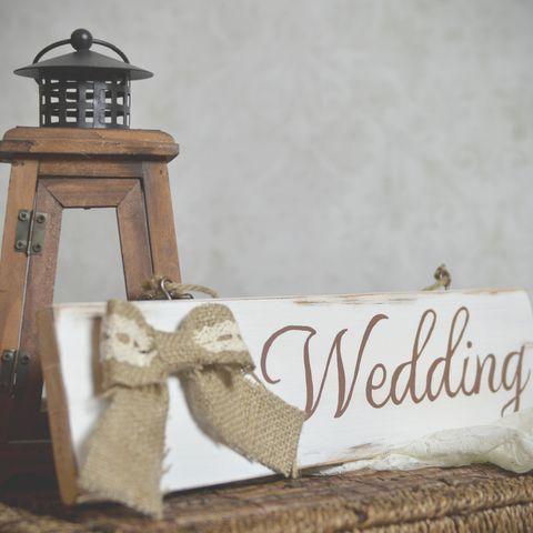 """""""wedding"""" feliratú fa táblakép, Dekoráció, Esküvő, Kép, Esküvői dekoráció, Meska"""