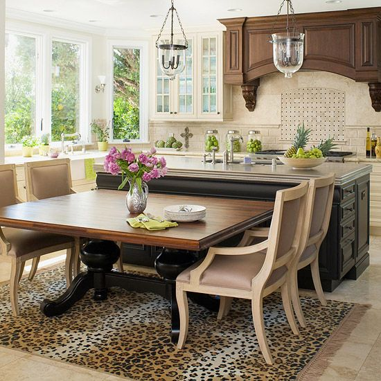 Kitchen Island You Can Eat At: Best 25+ Kitchen Island Table Ideas On Pinterest