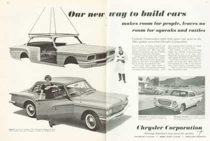 Chrysler Newport Dodge Lancer Suburban (1961)Cars Advertis, Vintage Cars, Cars Ads, Chrysler Cars