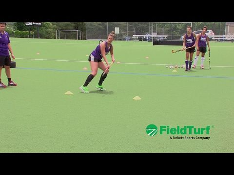 Touches & Checks │ Cone Drill │ Field Hockey Training with Amy Cohen - YouTube