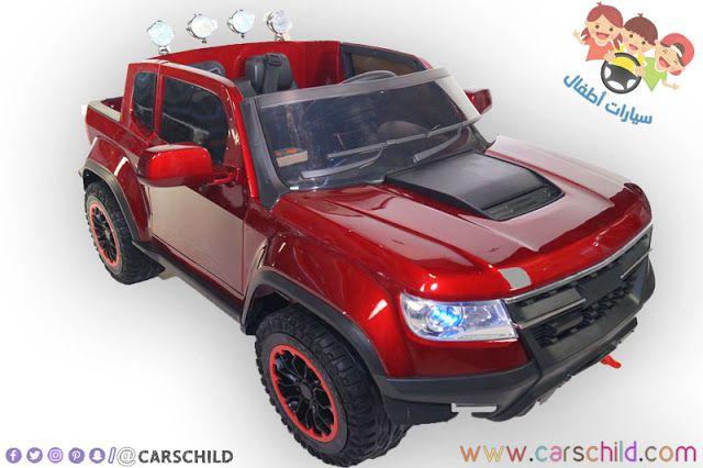 سيارة Red Chevrolet Kids الكهربائية الصغيرة Chevrolet Toy Car Kids