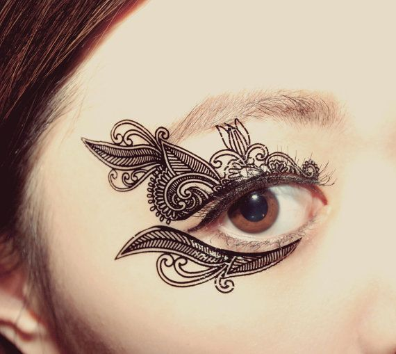 Hey, I found this really awesome Etsy listing at https://www.etsy.com/listing/191707321/1-pair-eye-temporary-tattoo-holiday