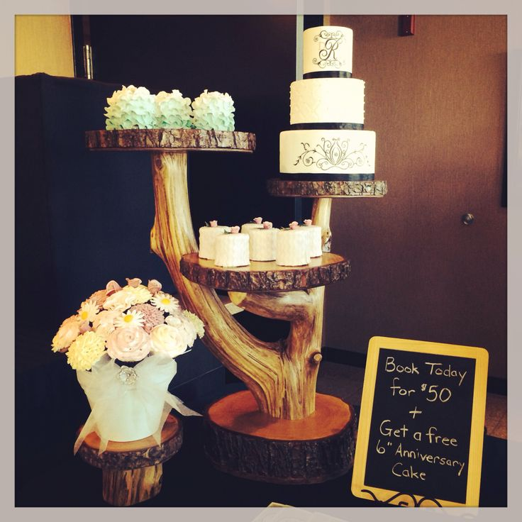 Rebecca's cakes created wonderful displays for the Show, not to mention wonderful deals and delicious treats!