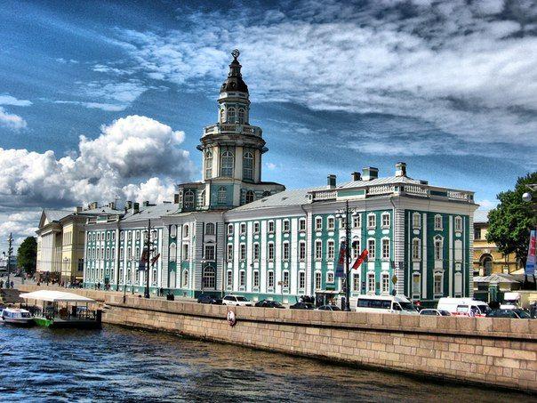 The Kunstkamera- St. Petersburg