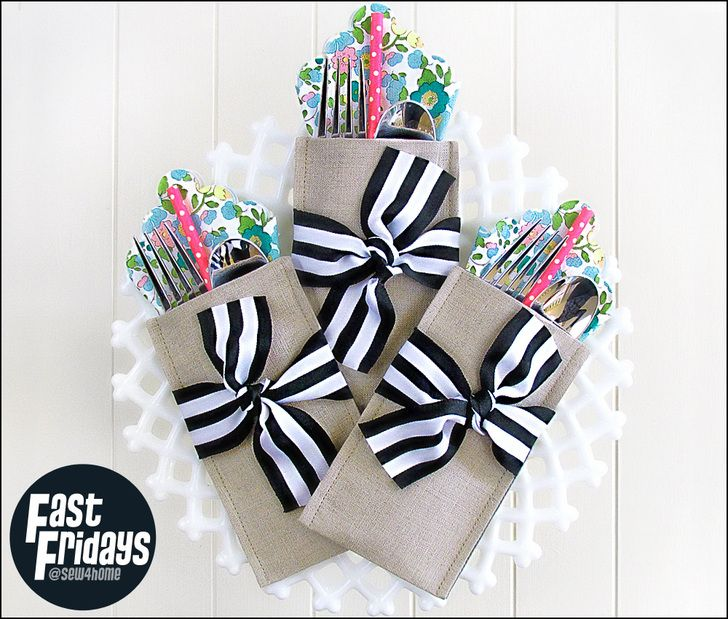 http://www.sew4home.com/projects/table-linens/fast-fridays-special-occasion-cutlery-pockets