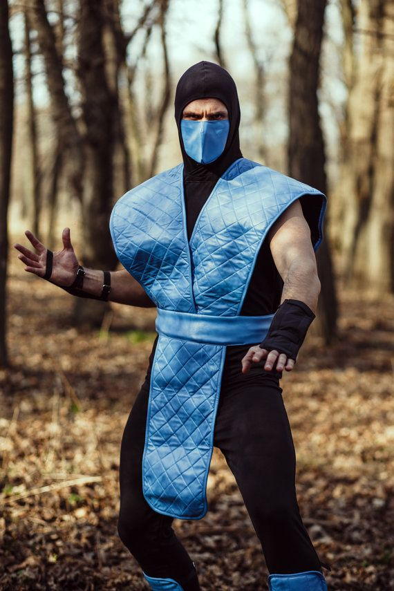 Sub Zero cosplay by ShopCosplayCostume #ninja #costume #MK #assassin #fancy #dresses #Mortal #kombat #cosplay #buy #shop