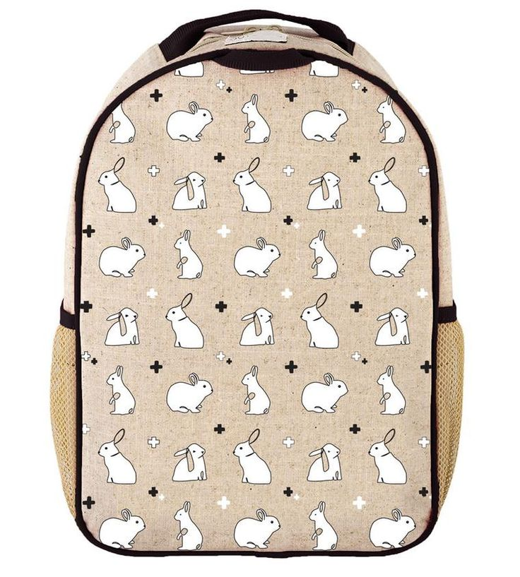 RAW LINEN - Bunny Tile Toddler Backpack