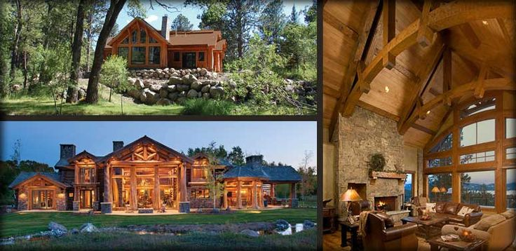 log home idea
