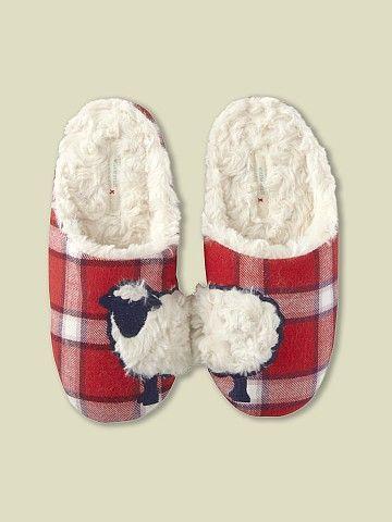 Cosy slippers. The White Stuff 'Ba Ba Mule' #myhappychristmas @Blanca Carlson Carlson Prado Stuff UK