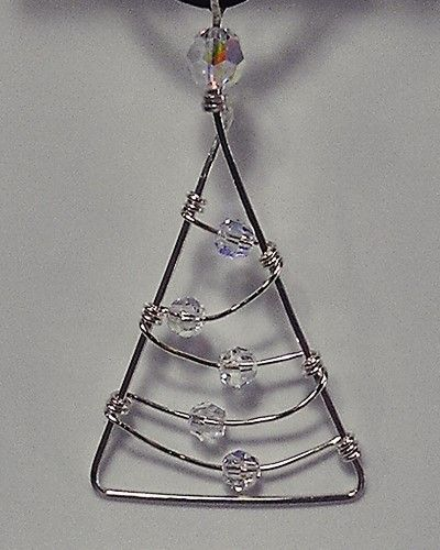 William Box Handmade Jewelry & Gifts- Christmas ornament for small trees?