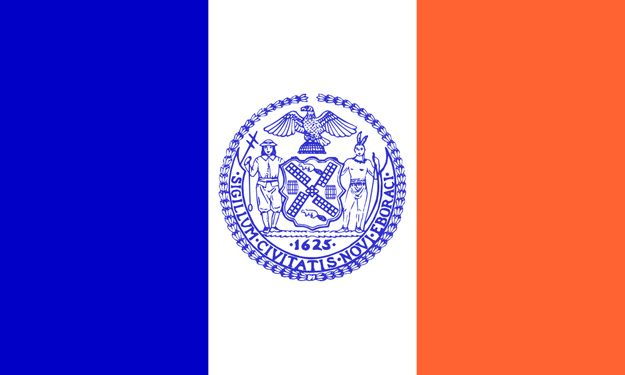 New York City, New York | 59 Interesting City Flags, From Best To Worst