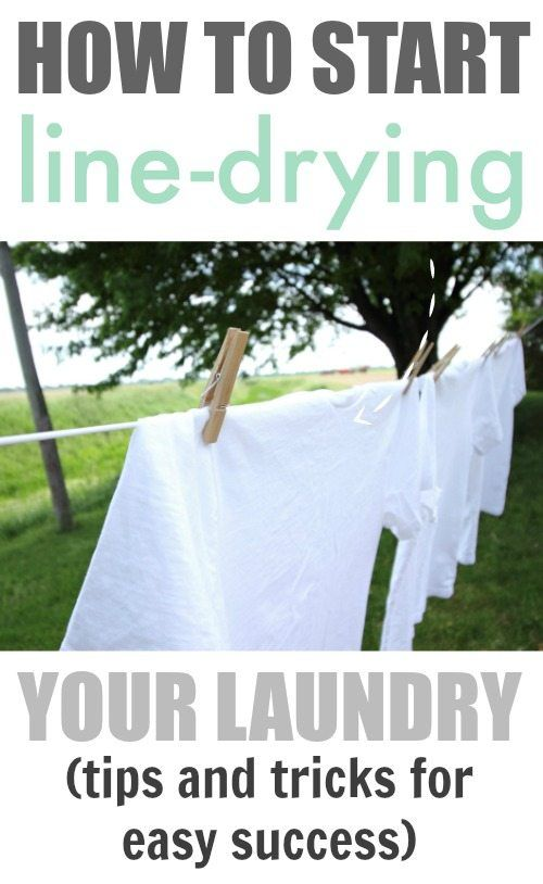 Awesome! I've been wanting to start drying my laundry on a clothesline to save money and energy. These tips and tricks make it a fun and rewarding experience that I actually enjoy!