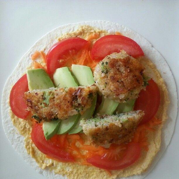 Quinoa and Broc Patties