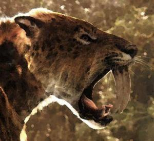 El tigre diente de sable y el león americano no se extinguieron por hambre | Paleorama en Red. Prehistoria y Arqueología en Internet