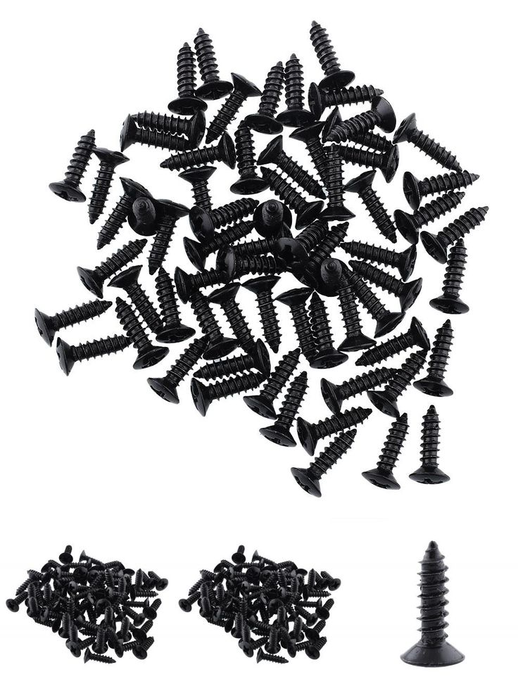 [Visit to Buy] 50Pcs/Lots Black Electric Guitar Pickguard Fixed Plate Screw For Acoustic Bass Guitar Drop Shipping #Advertisement