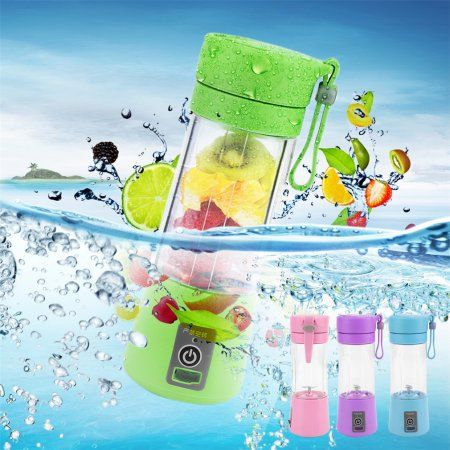 Free Shipping. Buy 380ml USB Electric Fruit Juicer Handheld Smoothie Maker Blender Juice Cup at Walmart.com