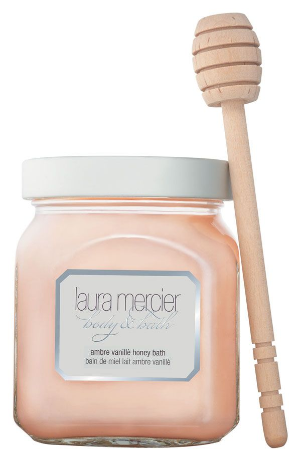 This Laura Mercier 'Ambre Vanillè' honey bath is the perfect way to spend a Friday night.