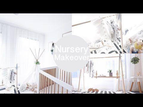 Row N Ash | Designer Baby Nursery Makeover - Tour Video | Regular Custom 'Bailey' Ply Banner