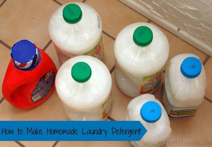 Using Borax to Make Homemade Laundry Detergent and Save Money