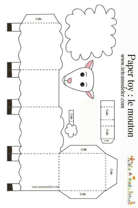 Mouton origami