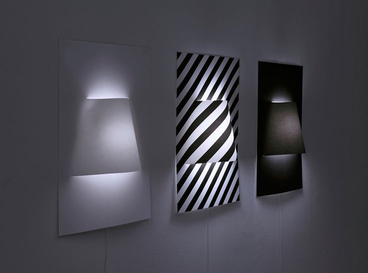 A Set Of Lamp Posters By Japanese Studio YOY. Japanese Studio YOY Has  Created This Set Of Simple And Clean Lamp Posters. These Wall Lamps Are  Made Of An