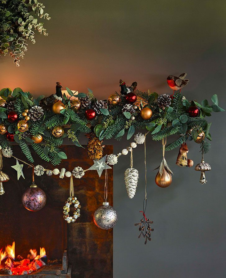 Wonderful Christmas By John Lewis Photos Ideas Design In 2020 Christmas Mantel Decorations Christmas Fireplace Decor Fun Christmas Decorations