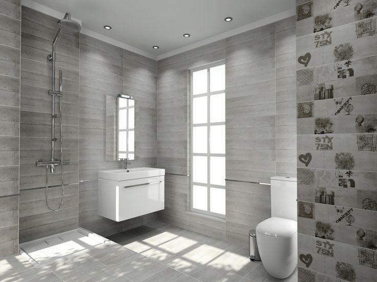 #Porcelana - Urban Chic #bathroom #tiles   http://www.porcelana.gr/default.aspx?lang=el-GR&page=15&prodid=41242
