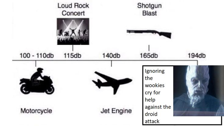 The sounds of the wookies