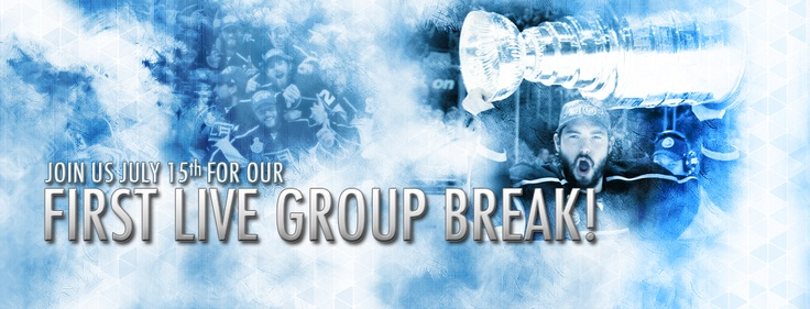 Live group breaks july15th starting at
