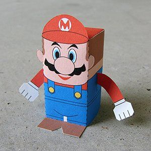 Super Mario - Another printable - go to the website, there are alot more