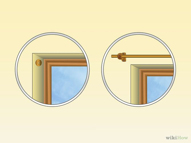 How to Install Curtain Rods: 10 Steps (with Pictures) - wikiHow