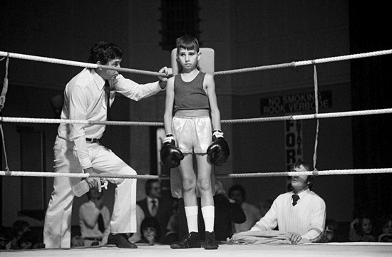 David Goldblatt, Before the fight: amateur boxing at the Town Hall, Boksburg