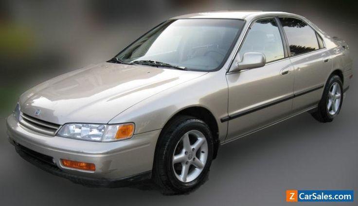 Awesome Honda - 2017 1995 Honda Accord EX #honda #accord #forsale #canada... Check more at http://24car.gq/my-desires/honda-2017-1995-honda-accord-ex-honda-accord-forsale-canada-2/