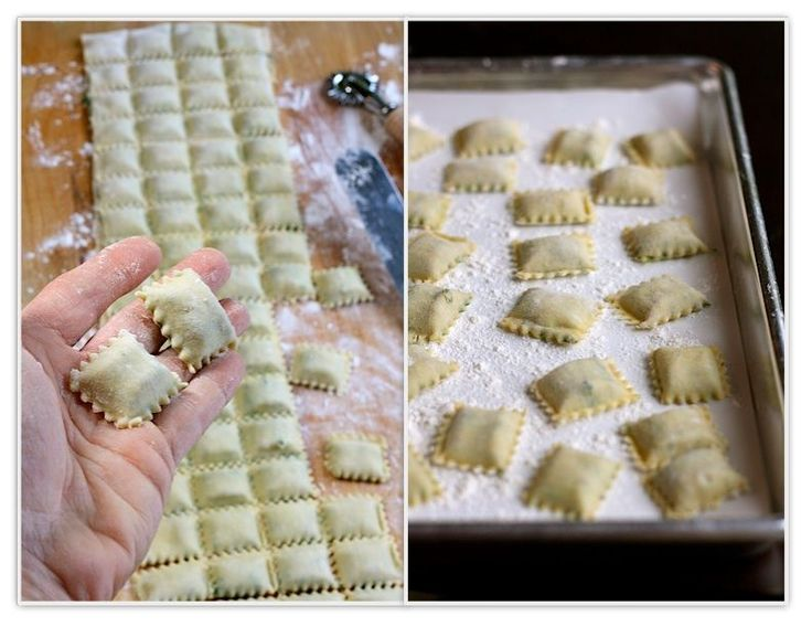The Lost Ravioli Recipes ofHoboken    Ravioli that has meat filling..uses Kitchen Aid pasta roller.