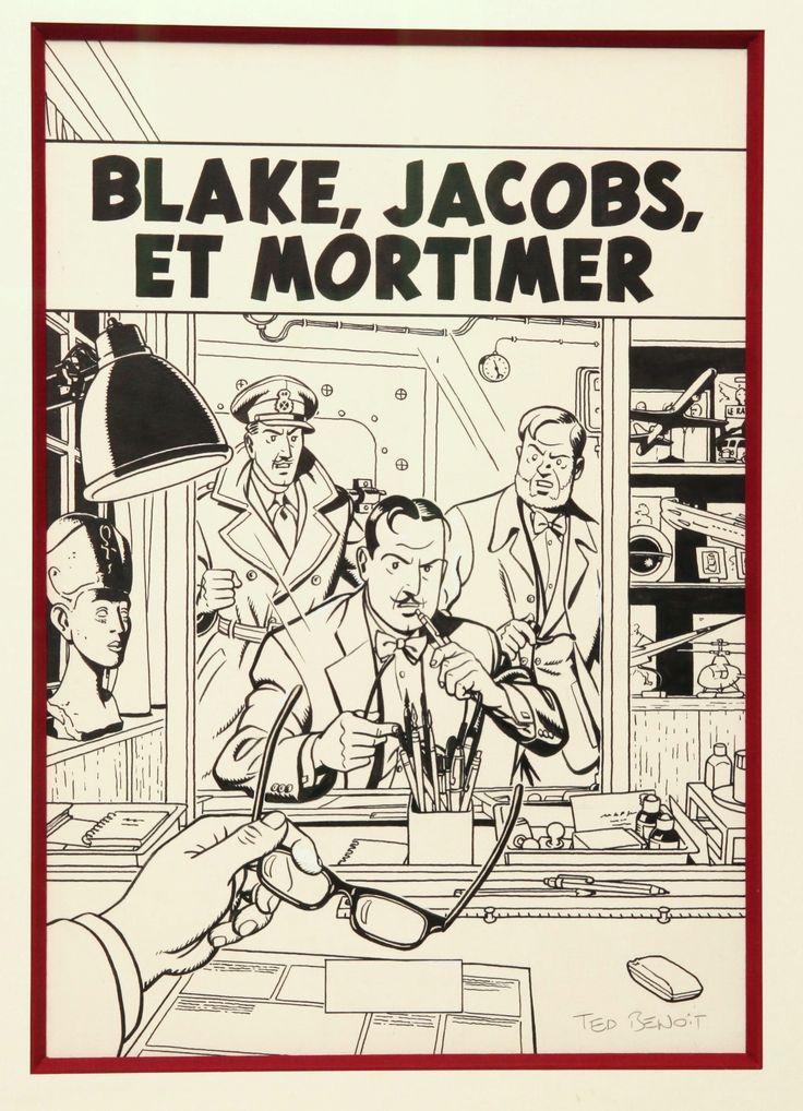 Blake, Jacobs , Mortimer ... by Ted Benoît - Illustration